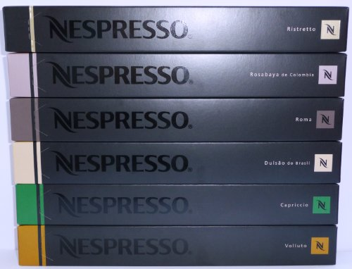 60 Nespresso Special Brazil & Colombia Mixed Variety