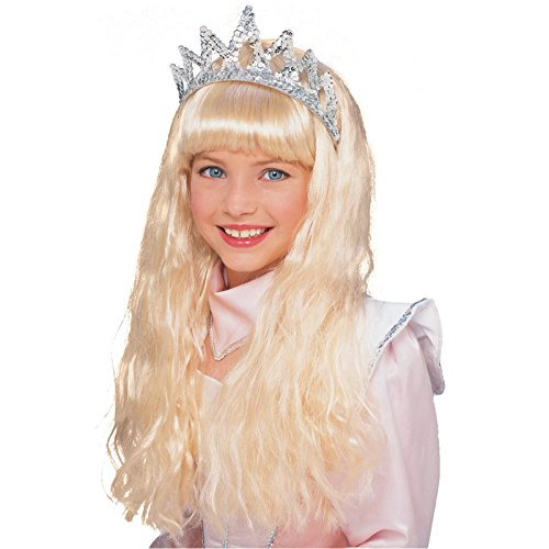 Rubies Halloween Child Little Girls Big Girls Sleeping Beauty Long Blond Wig 4 and Up