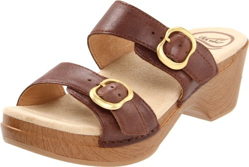 Dansko Women'S Sophie Sandal,Brown,37 Eu/6.5-7 M Us back-809013