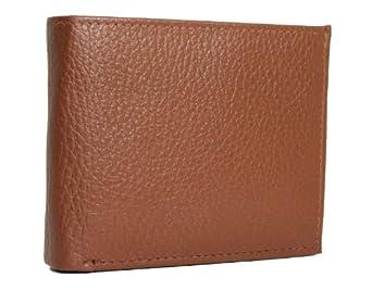 RFID Blocking Leather Urban Commuter Wallet (British Tan)