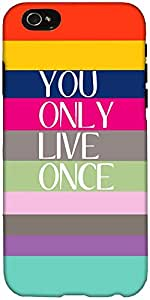 Snoogg Yolo Hard Back Case Cover Shield For Apple Iphone 6 S / 6s