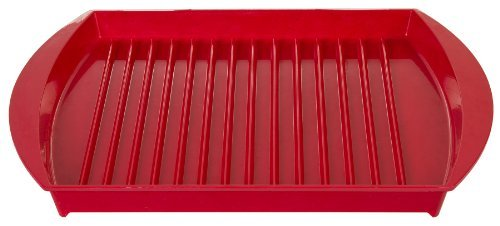 Prepworks From Progressive Gmmc-660 Microwavable Grill Color: Red Home & Kitchen