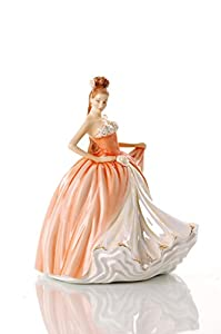 The English Ladies Co. Amber Figurine. New And Boxed