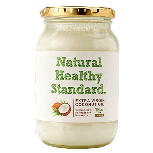 Natural Healthy Standard エキストラヴァージン ココナッツオイル 462g (500ml) 【国内充填品】