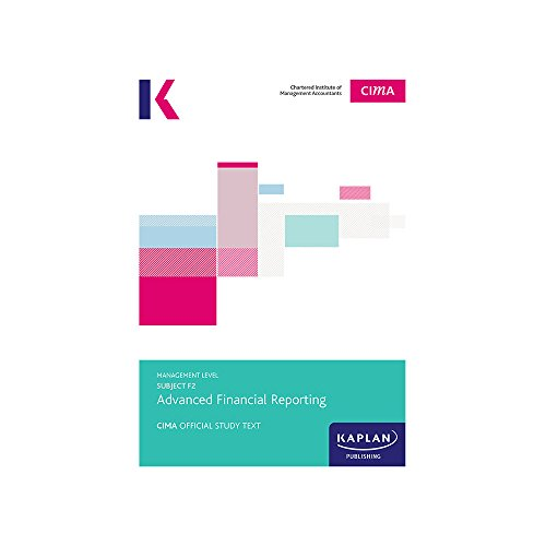 CIMA Complete Text – F2 Advanced Financial Reporting