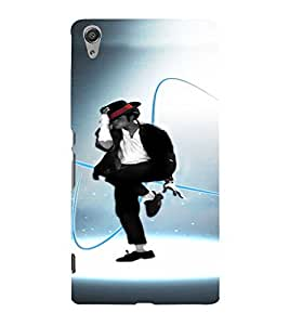 PrintVisa Dance Michael Jackson 3D Hard Polycarbonate Designer Back Case Cover for Sony Xperia C6