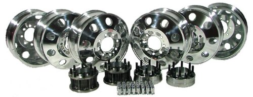 Dual Wheel Conversion Kit w/ 6 Aluminum Wheels (05-09 Ford F250/350)