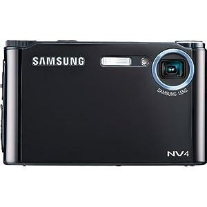 Samsung NV4 8.2 MP Digital Camera with 3x Optical Zoom (Black)