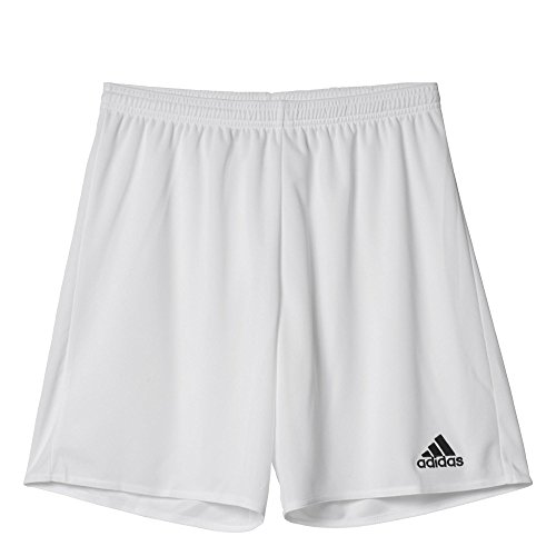 Adidas Parma 16 Sho Short da Uomo, Bianco/Rosso (Bianco/Nero), S
