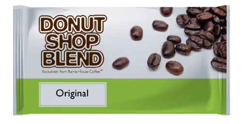 Barrie House Coffee Donut Shop Blend Coffee 3.00 oz. Portion Pack 24ct