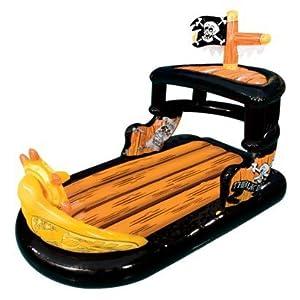 banzai ahoy matey pirate ship boat pool raft. Black Bedroom Furniture Sets. Home Design Ideas
