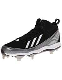 adidas Performance Men's PowerAlley Metal Mid Baseball Cleat