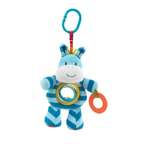 Mothercare Mothercare Safari Spinning Rattle - Zebra (Multicolor)