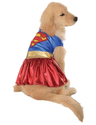 Extra Large - Cat & Dog Costume Supergirl Xl