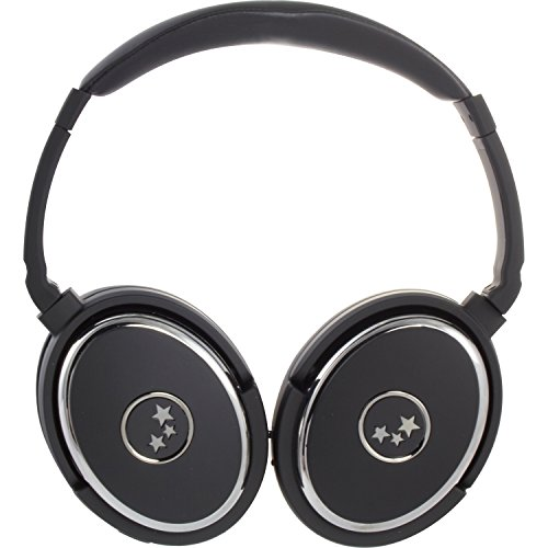 Able Planet Nc369Bcm True Fidelity Active Noise Canceling Headphone With Apple Controller