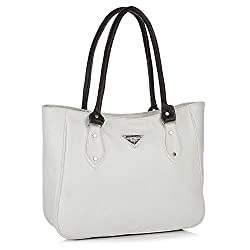 Fostelo Women's Handbag (White,Fsb-440)