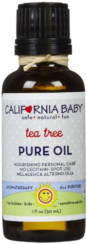 California Baby Pure Oil - Tea Tree - 1 oz