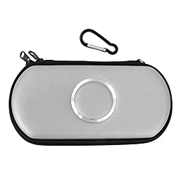 Imported Carry Case Cover Bag Game Pouch For SONY PSP 1000 2000 3000 Slim -White