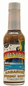 Trinidad Extra Hot Habanero Pepper Sauce - 5 Oz by Trinidad Traders Inc.