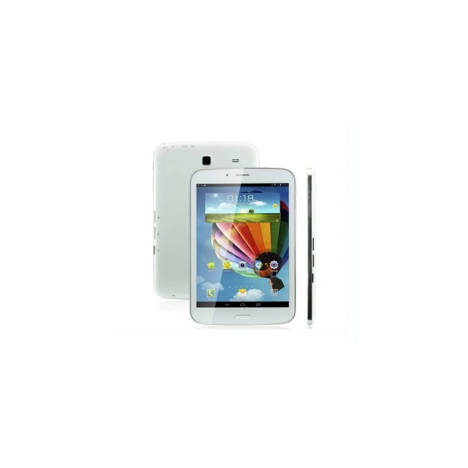 Epassion 7.85 Inch Unlocked Dual Sim Card Slot GSM Hd Phone Call Tablet, 4.2 Jelly Bean Os, Dual Core, MTK 8312 Cpu, Dual Cameras, 5 Point Capacitive Touch Screen, 8gb Storage, White Color, at&t, t moble  Computers & Accessories