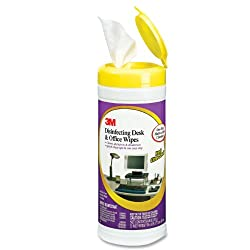 3M Disinfecting Desk and Office Cleaning Wipes, 25-Count (CL564)
