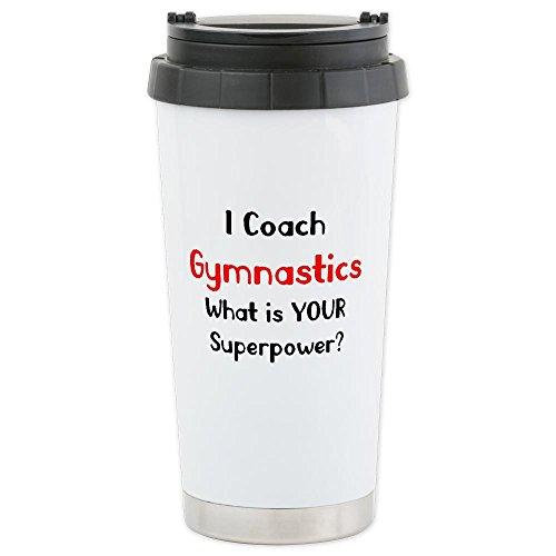 Cafepress Coach Gymnastics Ceramic Travel Mug - Standard Multi-Color