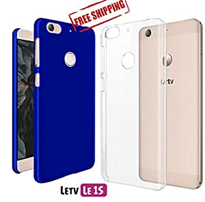 For Letv LeEco Le 1S, LeEco Le 1S Eco[COMBO OFFER]: Unistuff™ Matte Finish Hard Case Back Cover for Letv LeEco Le 1S, LeEco Le 1S Eco [SLIM FIT][FREE SHIPPING] (Royal Blue, Transparent)