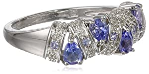 Sterling Silver Tanzanite Ring from Amazon Curated Collection
