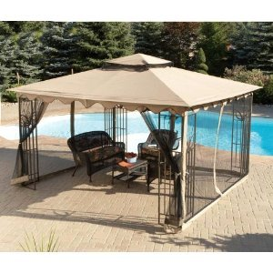 Replacement Netting for 10x12 Sun Joy Garden Gazebo
