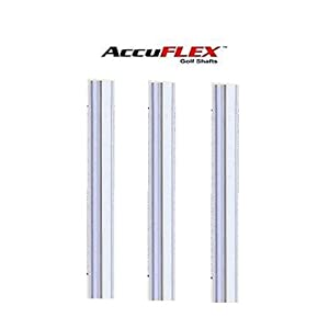 Accuflex Precision Tour Stepless Steel PGA Golf Iron Shafts .370 -A,R,S or X Flex by Accuflex Golf