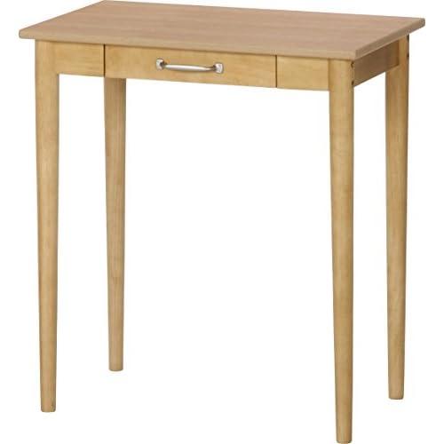 不二貿易 ドレッサーテーブル ルレーウ゛ェ 幅65cm ナチュラル 10624