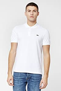 Buy lacoste polo shirts. - Lacoste Men\'s Red! Collection Short Sleeve Solid Polo Shirt - White