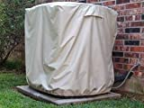 Covermates Air Conditioning Cover : 38 x 36 x 38 Khaki