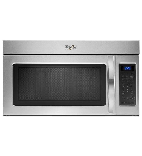 Whirlpool WMH31017AS 1.7 Cu. Ft. Stainless Steel Over-the-Range Microwave