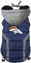 NFL Denver Broncos Dog Puffer Vest, Small