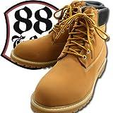 【GOD&BLESS】 イエローブーツ《メンズ》GB-3126N 大きいサイズ《28.5cm~30cm》靴・シューズ (29cm)
