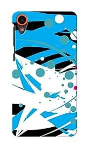 KnapCase Abstract Designer 3D Printed Case Cover For HTC Desire 820