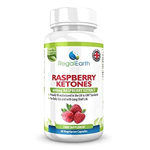 Raspberry Ketones Weight Loss Burn Fat Capsules 600mg Max Strength Pure Diet Pills For Men & Women - Alternative for Garcinia Cambogia - Promotes Healthy Digestive System - Natural Appetite Suppressant - Prevents Weight Gain - Fat Burner - Excellent Resul