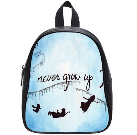 Large Size Peter Pan Never Grow up Printing Backpack Custom High School Students Backpack for Travel or Party (Peter Pan Backpack compare prices)