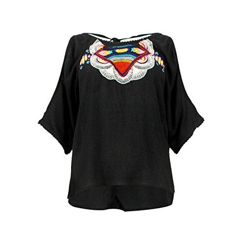Top Rip Curl Tribal Myth Shirt Noir - Couleurs - NOIR, Tailles - 42