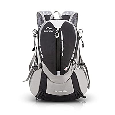 Hiking Backpack, Sunhiker Sports Outdoor Cycling Backpack Bag Running Camping Backpack Water Resistant Lightweight SMALL Daypack 25L M441