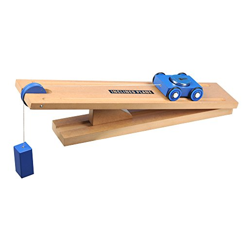Simple Wooden Machine: Inclined Plane and Cart Model, (3851)