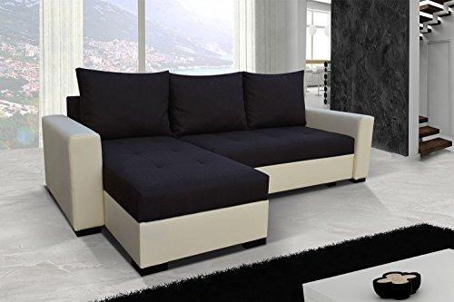 Divano da angolo Newark7 angolo per il divano letto con funzione