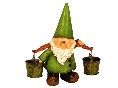 Woodland Wilf Looks Pail Garden Gnome