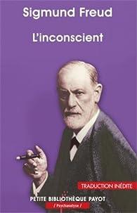 L\'inconscient par Sigmund Freud