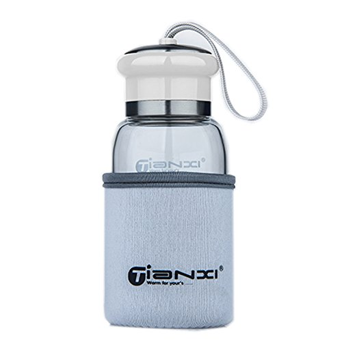 Cute Fashional Water Bottle For Kids Portable Sport Bottle\300ML(White)