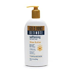 Gold Bond Ultimate Lotion, Skin Therapy, Softening, Shea Butter, 14 oz.