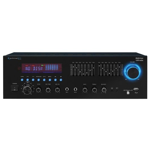 Technical Pro RX51Uri Professional Stereo Receiver with USB