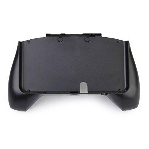【ノーブランド品】NEW 3DS用 コントローラハンドルホルダー ハンドグリップ保護 黒