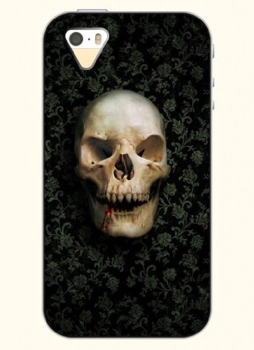 Oofit Phone Case Design With Blood Skull For Apple Iphone 5 5S 5G
